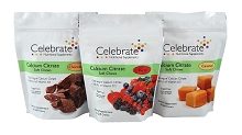 CELEBRATE® <br>Calcium Soft Chews - chocolate, caramel, berry <br>(270 total)