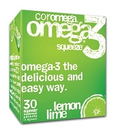 CELEBRATE® <br>Coromega - Lemon Lime <br>(90 pack)