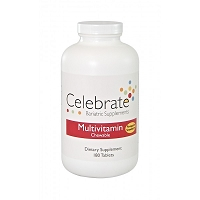 CELEBRATE®  Multi Vitamin Chewable- Pineapple Strawberry 90 day