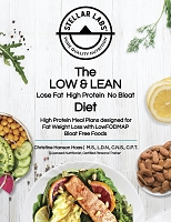 The LOW & LEAN Lose Fat High Protein No Bloat Diet  High Protein Meal Plans designed for Fat Weight Loss with LowFODMAP Bloat Free Foods