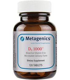 METAGENICS® D3 1000 <br> (120 tablets)
