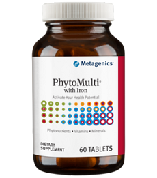 METAGENICS® PhytoMulti  With Iron (60 tablets)